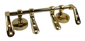 Gold Plated Toilet Seat Bar Hinge