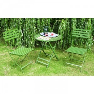 """""""Twin Set"""" Vintage Garden Furniture Collection from """"Grannie Kate"""" finished in Green"""