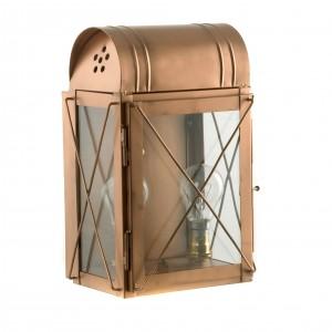 """""""Hampshire"""" Wall Lantern in Copper"""