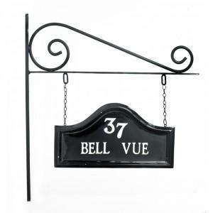 """Bromford"" Hanging House Name Sign Wall Bracket"
