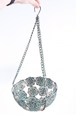 Ornate Hanging Basket