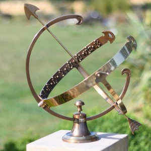 """Profatius"" Armillary Created From Antique Brass"