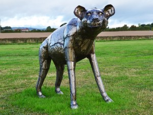 """Havelock"" Hyena Garden Sculpture"