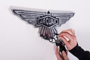 Jaguar Key Hook Rack