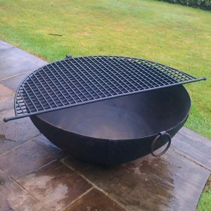 Kadai Bowl displaying the Grill on Top
