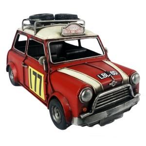 """Monte Carlo"" Mini Cooper Racing Car Model (Large)"