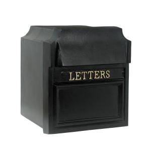 """The Farringdon"" Wall or Pillar Mounted Post Box"
