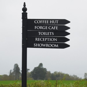 Lamp Post Directional Signs