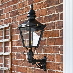Harrogate Wall Lantern on Bracket 53 x 27cm