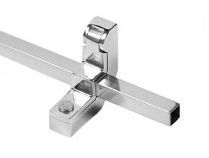 Manhattan Bright Chrome square stair rod - 12mm