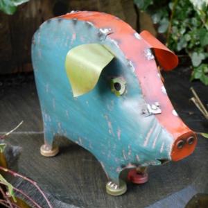 """Marnford Estate"" Pig Sculpture"