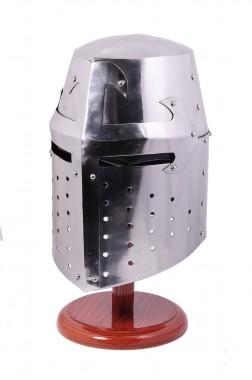 """""""Great Crusader"""" Medieval Knight Helmet"""