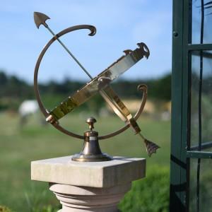 Medium Profatius Armillary in Antique Brass
