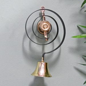 Polished Brass Traditional Butler Bell