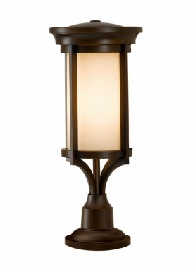 Modern Bronze Pillar Light 60cm
