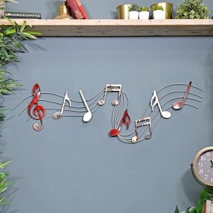 Musical Metal Wall Art Sign