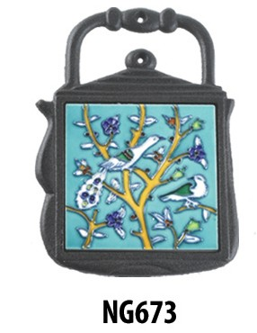 Birds In Tree Trivet