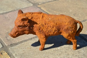 """Ushworth Grassland"" Wild Boar Sculpture"