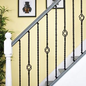 """Set of 3 """"Grosvenor"""" Rope Twist Stair Spindles - Pattern 5"""