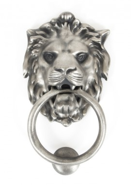 Pewter Lion Door Knocker