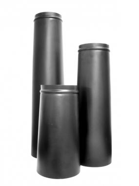 Plain Black Steel Chimneys
