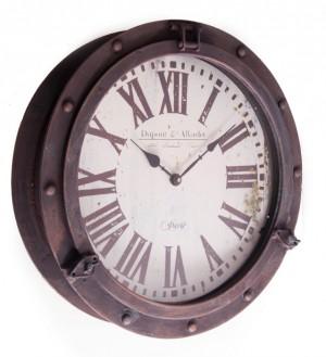 Porthole Style Clock