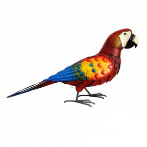 Red Parrot Ornament