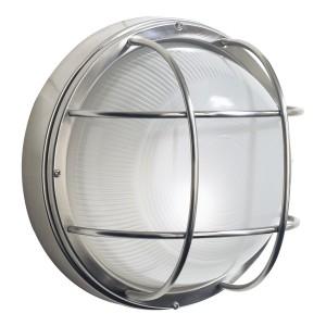 Round Bulk Head Inspired Garden Wall Light