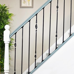 Black Iron Stair Spindle Set of 3