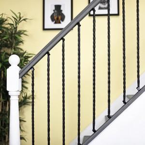 """Grosvenor"" Rope Twist Stair Spindle with Brackets Best Buy"