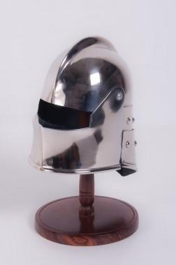 """Decorative """"Sallet"""" Style Scale Helmet"""