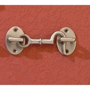 Loose Ring Type Satin Chrome Cabin Hook