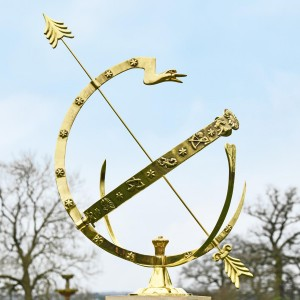 Serpent Armillary in Situ Outside