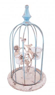 """Belvoir Avenue"" Bird Cage Candle Holder"