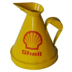 """""""Shell"""" Jug Finished in Yellow"""