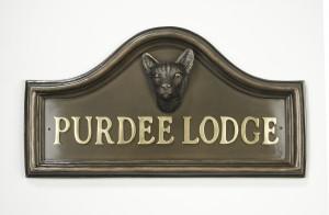 Siamese Cat House Name Plaque