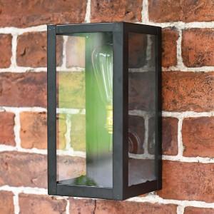 Close-up of the Rectangular Simplistic Outdoor Wall Light
