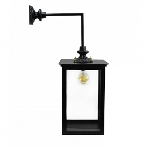 Side View of the Square Wall Light