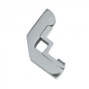 Bright Chrome Hinged Square Stair Bracket - 12mm