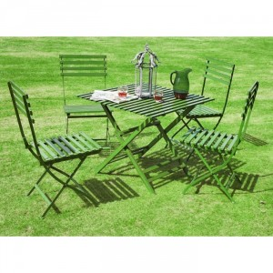 """""""Afternoon Tea"""" Vintage Garden Furniture Collection Finished in Green"""
