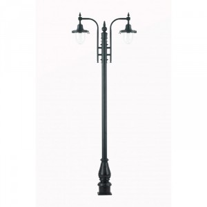St Marlo Double period lamppost set