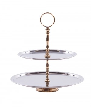 """Parrington Park"" Two Tier Cake Stand"