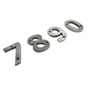 Antique Pewter Numerals