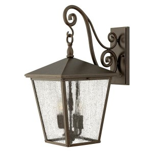 """""""Pennerley"""" Traditional Large Dark Bronze Wall Light"""