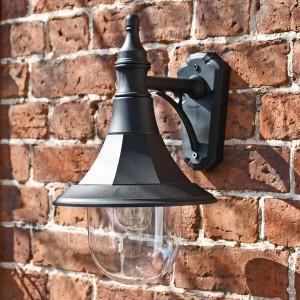Coach house style garden lantern