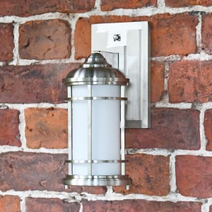 """Nash Point"" Coastal Inspired Standard Wall Lantern"