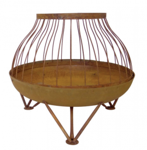 Rustic Newquay Fire Cage