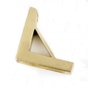 Unhinged Triangle Bracket - Large Apreture
