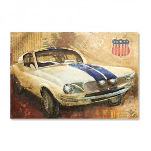 Vintage American Muscle Car Sign