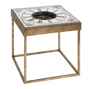 Vintage Style Clock Table